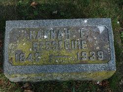 Hannah Eleanor <i>Goose</i> Resseguie