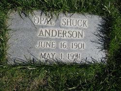 Opal <i>Stimpson</i> Shuck Anderson