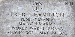 Maj Fred L. Hamilton