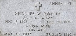 Col Charles Willis Yokley