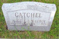 Alice E Gatchel