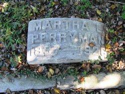 Martha E. <i>Slaton</i> Perryman