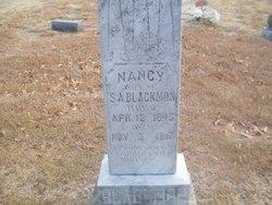 Nancy Nannie <i>Hamilton</i> Blackmon