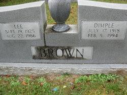 Dimple Brown