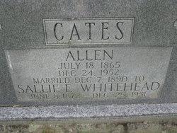 Sarah Emaline Sallie <i>Whitehead</i> Cates