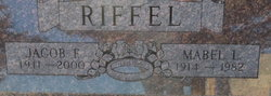 Jacob F. Jake Riffel