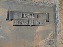 Beryl Lucy <i>Nix</i> Carson