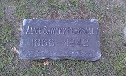 Alice <i>Sawyer</i> Pearsall