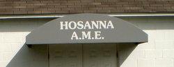 Hosanna African Methodist Episcopal Cemetery