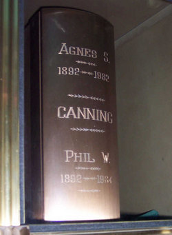 Phil W Canning