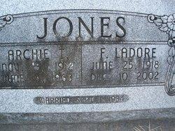 Francis Ladore <i>Abter</i> Jones