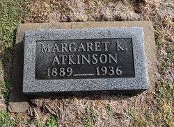 Margaret K. <i>Engelhart</i> Atkinson