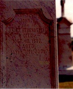 John K Hebenstreit