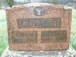 Zora May <i>Baugh</i> Culver