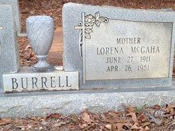 Lorena <i>McGaha</i> Burrell