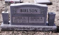 Lonie A. Birlson