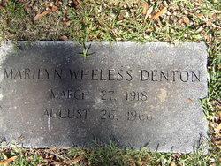 Marilyn <i>Wheless</i> Denton
