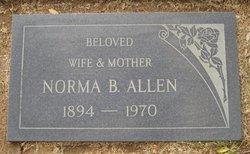 Norma Nonnie <i>Buchanan</i> Allen