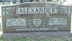 Alice Odell <i>Barnett</i> Alexander