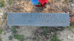 Boyd Freeman
