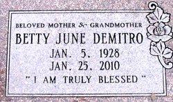 Betty June Demitro