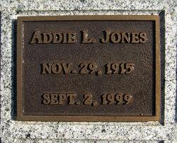 Addie L Jones