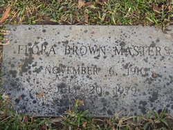 Flora <i>Brown</i> Masters