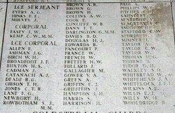 Lance Corporal Alexander John Catanach