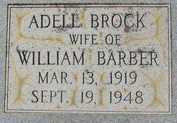 Adell <i>Brock</i> Barber