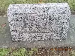 Barbara K. Warnkes