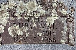Ruby Mae <i>Thomason</i> Bailey