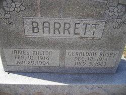 Geraldine <i>Busby</i> Barrett