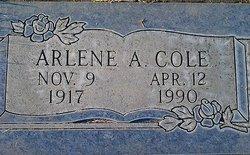 Arlene A. <i>McCoy</i> Cole