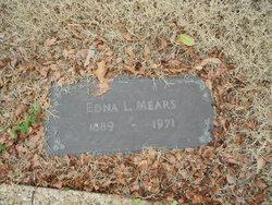 Edna Lula <i>(Brown) (Crowder)</i> Mears