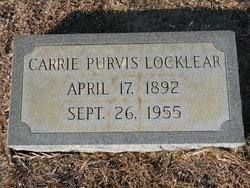 Carrie <i>Purvis</i> Locklear