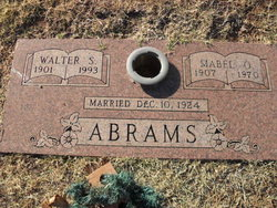 Walter Sherman Shorty Abrams