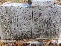 Mary Elizabeth <i>Sexton</i> Salyer