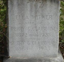 Ella Alvisa <i>Witwer</i> Claiborne
