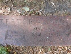 Mrs Mattie Lois Teeter