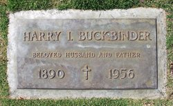 Harry Isidor Buckbinder