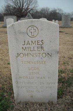 LCDR James Miller Johnston