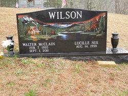 Rev Walter McClain Wilson