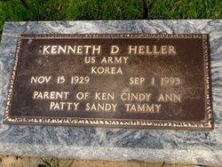 Kenneth D Heller