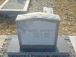 Annie Bozeman