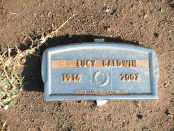 Lucy Roe <i>McBroom</i> Baldwin