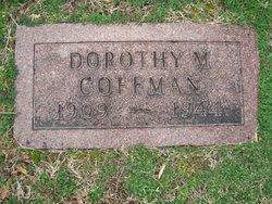 Dorothy Madge <i>McMillan</i> Coffman
