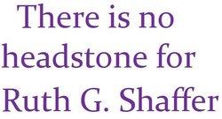 Ruth G. Shaffer