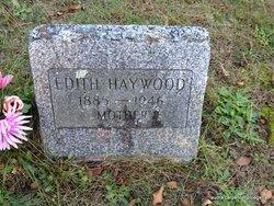 Edith <i>Cornell</i> Haywood