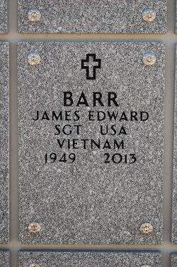 Sgt James Edward Barr