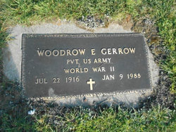 Woodrow E Gerrow